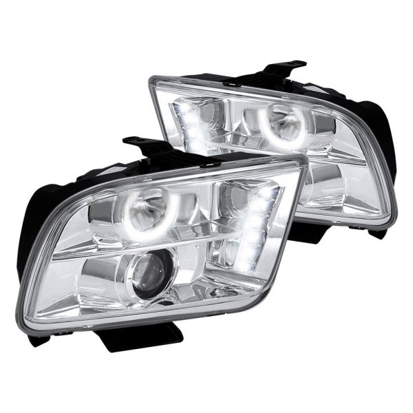 05-09 HALO PROJECTOR HEADLIGHTS - CHROME