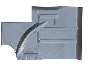 64-68 LH REAR FLOOR PAN EXTENSION