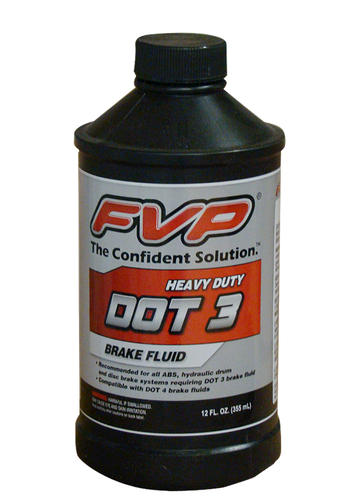 DOT 3 BRAKE FLUID - 12 OZ