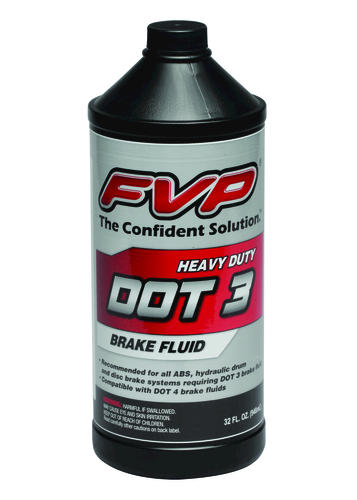 HEAVY DUTY DOT 3 BRAKE FLUID - 32 OZ