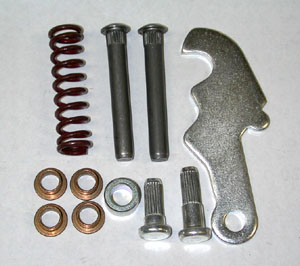 64-66 UPPER & LOWER DOOR HINGE REPAIR REBUILD KIT