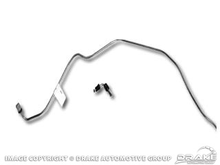 67 PRE 2-1-67 FRONT TO REAR DISC BRAKE LINE - FRONT DISC ONLY