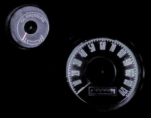 71-73 LED LAMPS FOR DASH GAUGES - WHITE