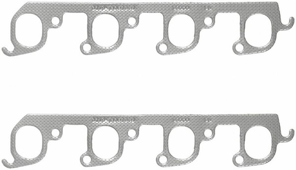 351C 2V STEEL CORE LAMINATED EXHAUST MANIFOLD GASKET