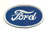 "FORD OVAL PATCH 3-5/8"" X 2"""