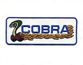 "FORD COBRA PATCH 5"" X 2"""