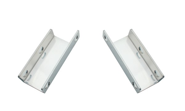 65-66 STAINLESS STEEL POWER BRAKE BOOSTER BRACKET - PAIR