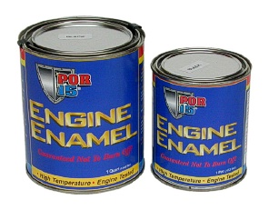 POR15 ENGINE ENAMEL - PT - BLACK