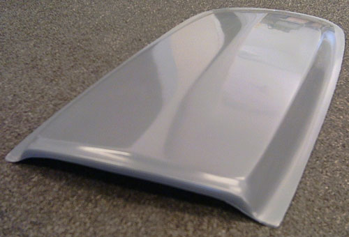65-66 SHELBY GT350 HOOD SCOOP - MOLD ON