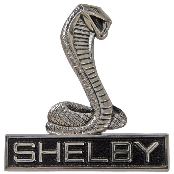 SHELBY EMBLEMS : American Mustang Parts, World Greatest Ford