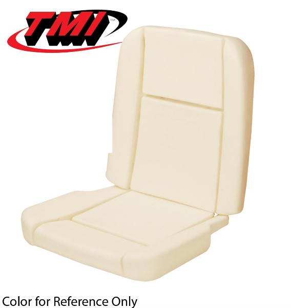 65-66 DELUXE PONY SEAT FOAM WITH WIRES SET - TMI