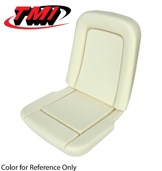 65-66 STANDARD SEAT FOAM WITH WIRES - TMI
