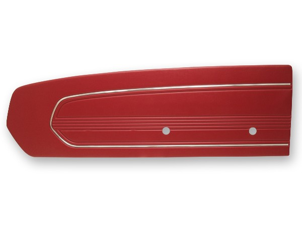 DOOR PANELS 67 STANDARD RED - TMI