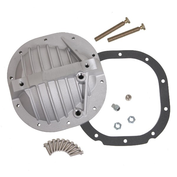 DIFFERENTIAL COVER, ALUMINUM, NATURAL - FORD 8.8