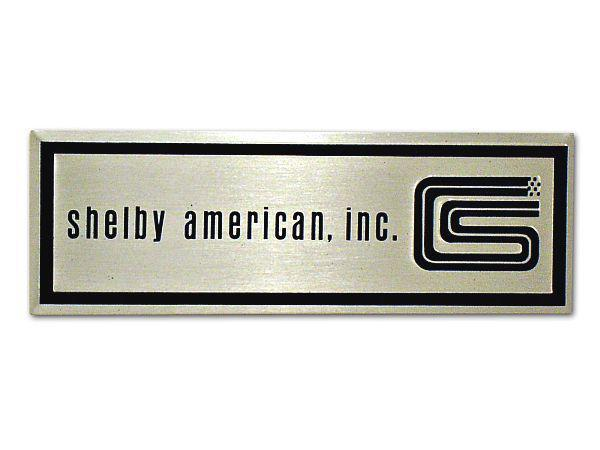 65-66 SHELBY SILL PLATE DECAL - 1 LINE