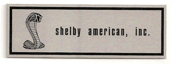 67-68 SHELBY -1 LINE SILL PLATE DECAL