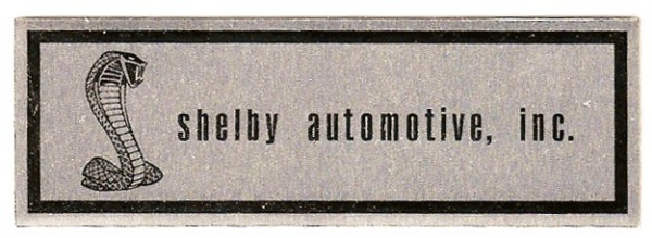 68-70 SHELBY SCUFF PLATE DECAL