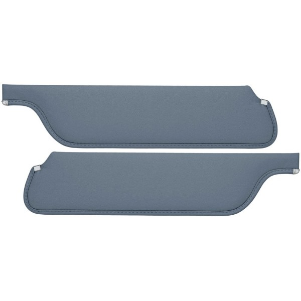 SUN VISORS 65-66 CONVERTIBLE LIGHT BLUE - TMI