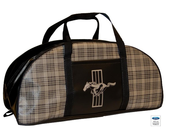 LARGE TOTE BAG - PLAID