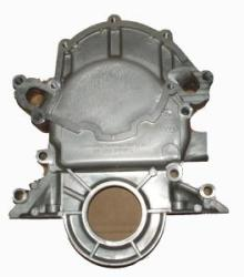 81-95 TIMING CHAIN COVER - 5.0 W/ELCTRIC FUEL PUMP MOUNT