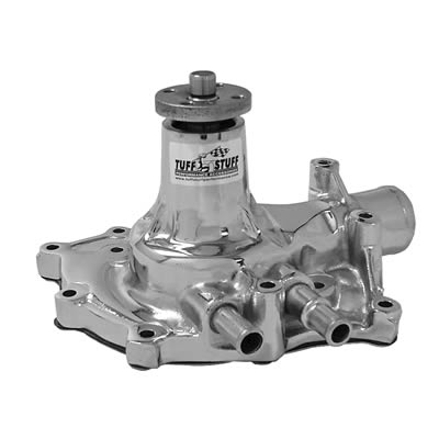 65-69 289 302 351 CHROME WATER PUMP