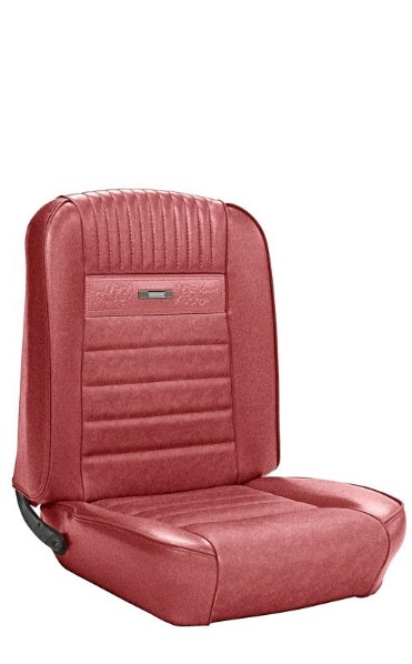UPHOLSTERY 65 PONY COUPE FULL SET RED - TMI