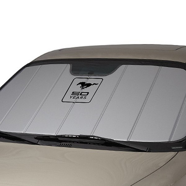 64-73 SUNSHADE - MUSTANG 50 YEARS - SILVER HEAT SHIELD