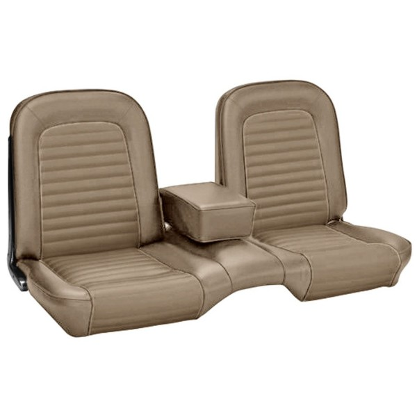 UPHOLSTERY 66 COUPE BENCH FULL SET BLACK - TMI