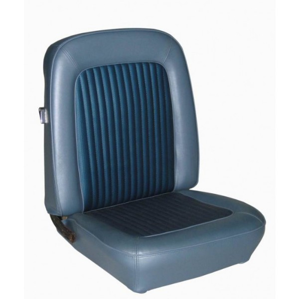 UPHOLSTERY FULL SET 68 COUPE BLACK - TMI