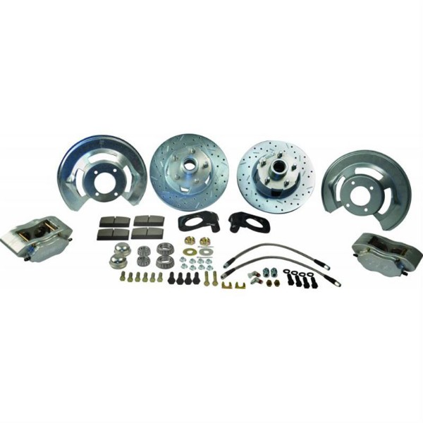 64-69 DRUM TO DISC BRAKE CONVERSION KIT- AT THE WHEEL ONLY
