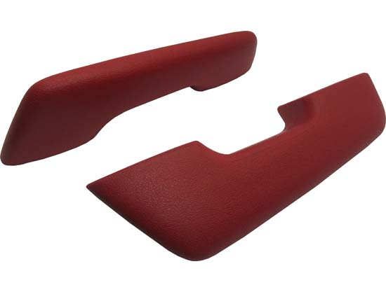 60-64 FALCON ARM REST PADS - STANDARD - RED - PAIR