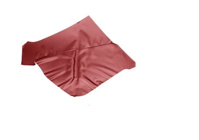 QUARTER TRIM UPHOLSTERY 65 COUPE RED - TMI