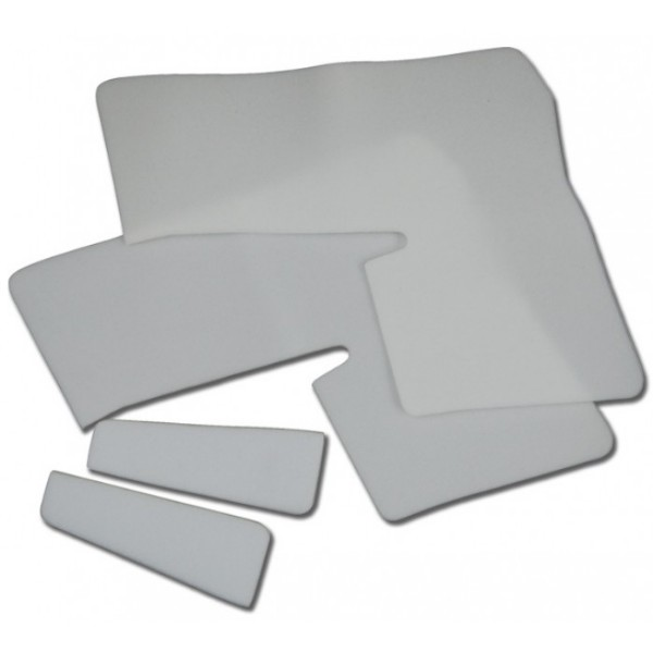 69-70 CONVERTIBLE QUARTER TRIM PADDING KIT