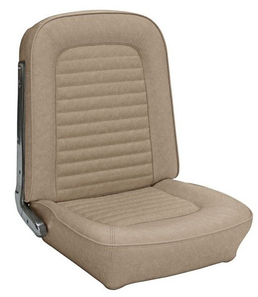 UPHOLSTERY 66 COUPE FULL SET PARCHMENT - TMI